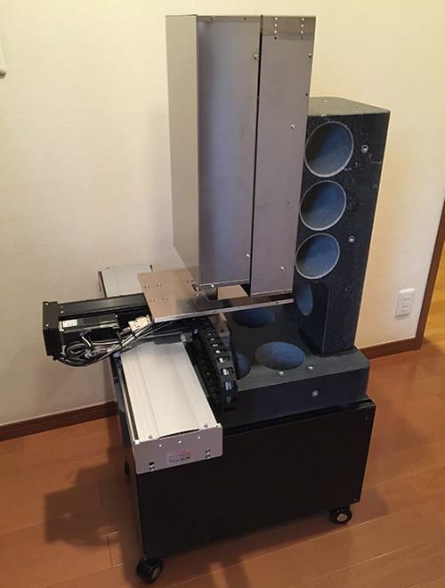 レーザー式卓上型パーティクル検査装置 初号機