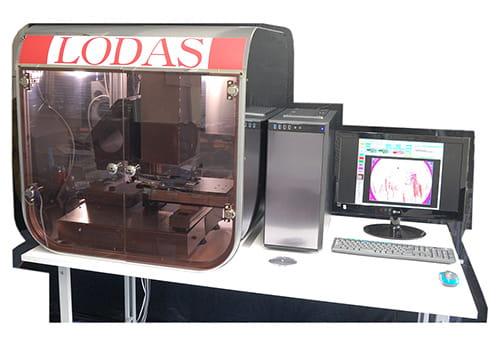 小型軽量化、デザイン、ソフトウェア改善後の現在の検査装置